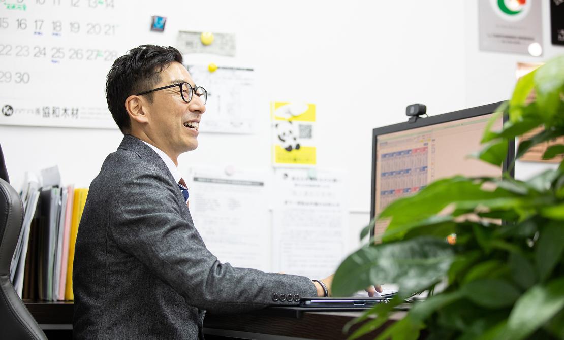 不動産マーケティング福岡株式会社の内装