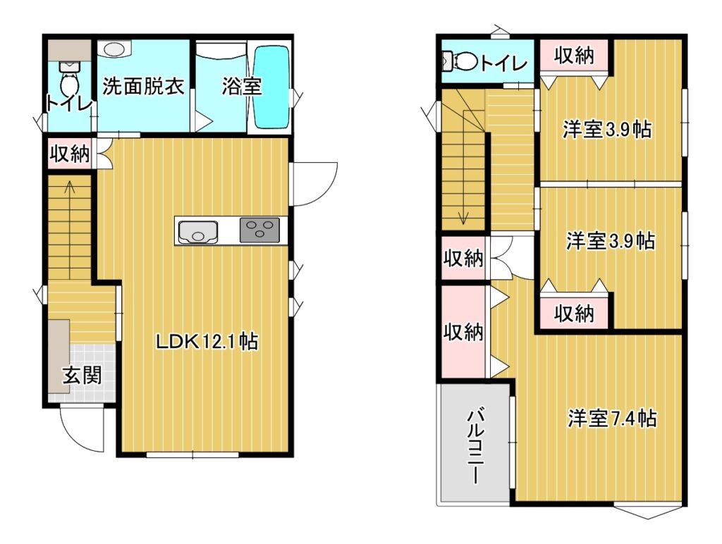 【新着】南区野多目4-17-13 新築戸建て☆