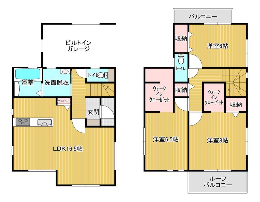 【新着】春日市下白水北5-206 新築戸建て☆