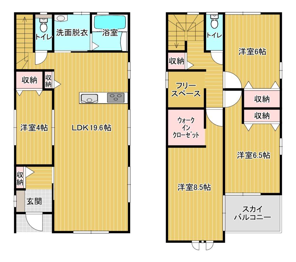 【新着】博多区板付4-2-16 新築戸建て☆