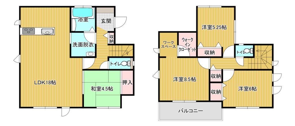 【新着】博多区板付7-6-23 新築戸建て☆