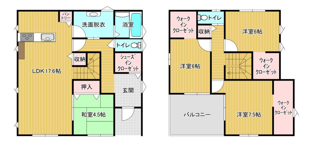 【成約】博多区東月隈3-7-17 新築戸建て☆