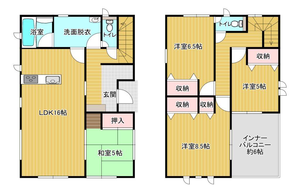 【新着】南区柳河内2-6-97 新築戸建て☆