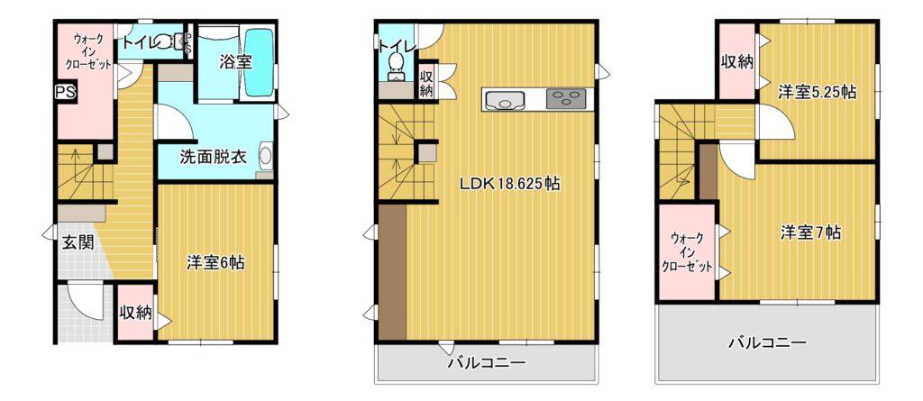 【新着】博多区美野島1-9-14 新築戸建て☆