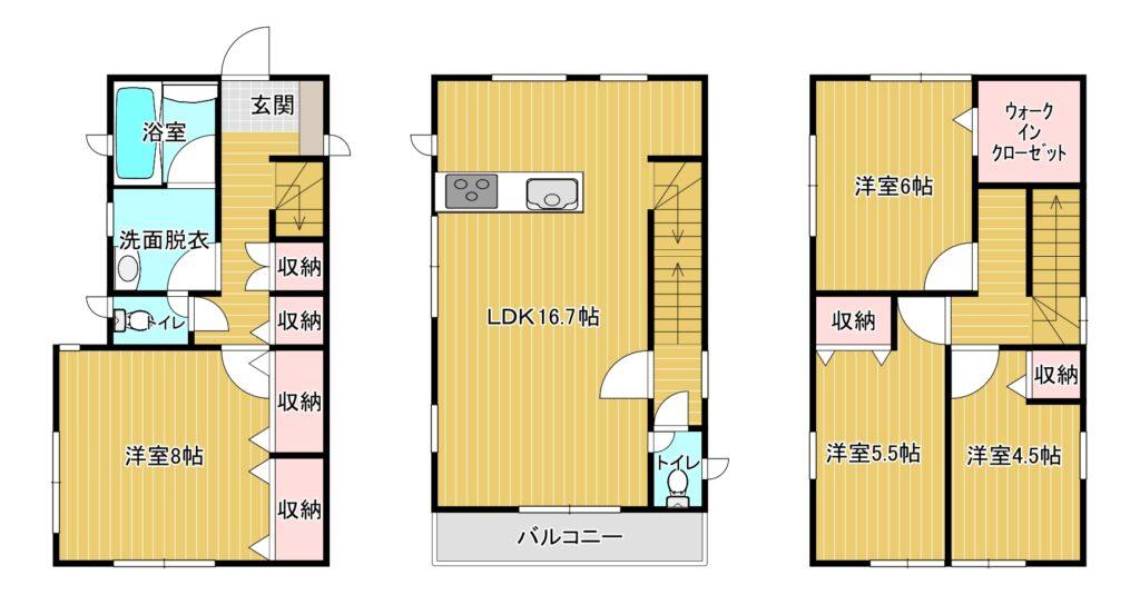 【新着】大野城筒井2-15-13 新築戸建て☆
